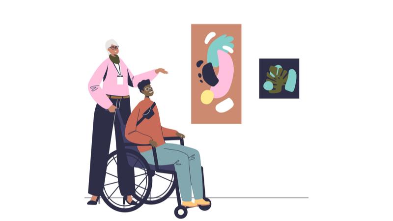 障害のある方対象 アート・コミュニケータとめぐる庭園美術館
